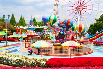 『遊園地』&『日帰り温泉』で家族で楽しめてママが楽できちゃう一日コース