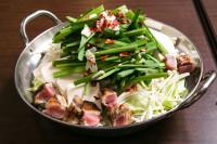 名物もつ鍋に加え地鶏鍋、豚鍋もラインナップ!