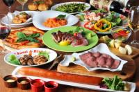 北海道産食材がガッツリ楽しめる宴会コースは