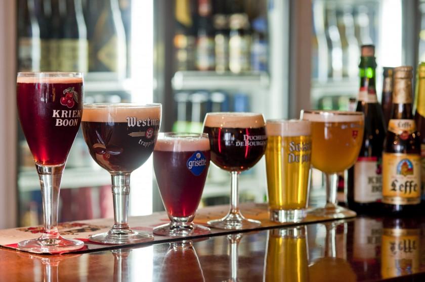 県内最大級の品揃えのベルギービール
