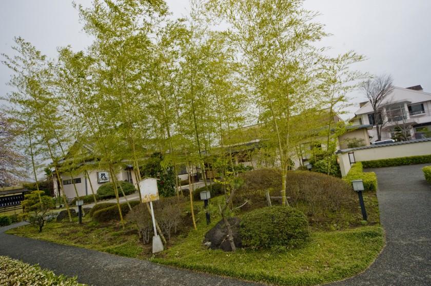日本庭園を擁し個室を完備