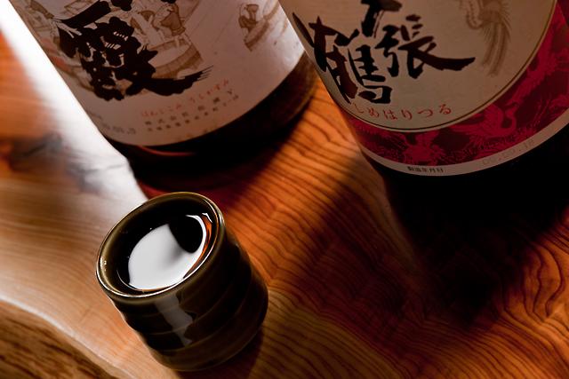 全国の日本酒・焼酎が豊富