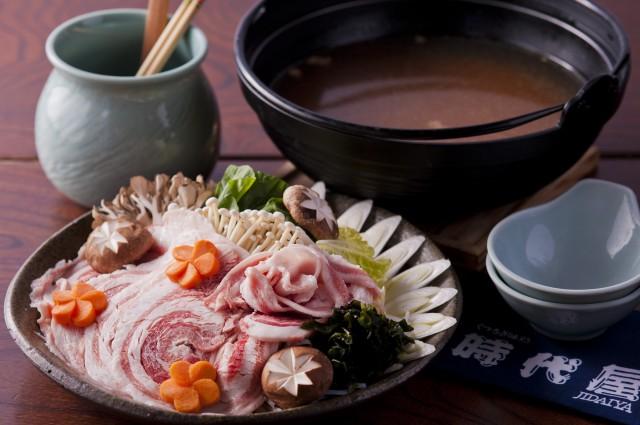 伊香保時代屋 板長後藤昭おすすめの逸品『猪ぼたん鍋』