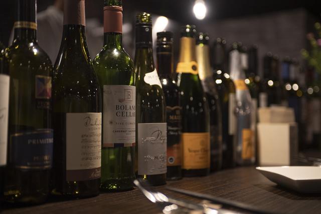 料理との相性を考え、厳選したワイン