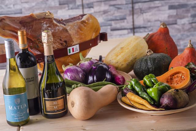 オーガニック野菜を活かした料理