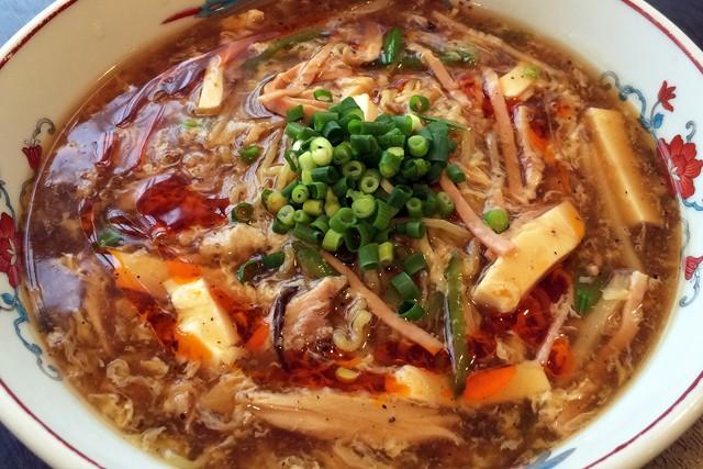 雪園 サンラー湯麺