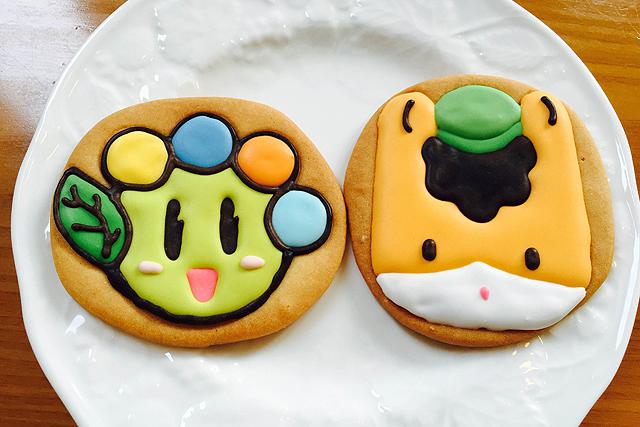 ぐんまちゃんとおおたんのアイシングクッキー