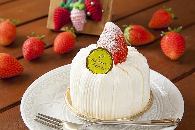 フレッシュいちごのショートケーキ